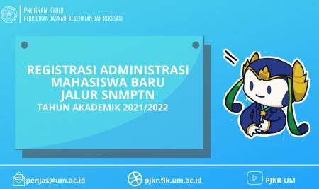 Registrasi Administrasi Calon Mahasiswa Baru Universitasn Negeri Malang Jalur SNMPTN Tahun Akademik 2021/2022
