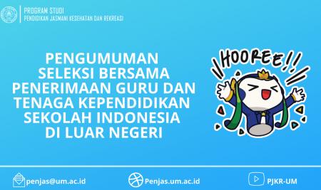 Seleksi Bersama Penerimaan Guru dan Tenaga Kependidikan Sekolah Indonesia di Luar Negeri