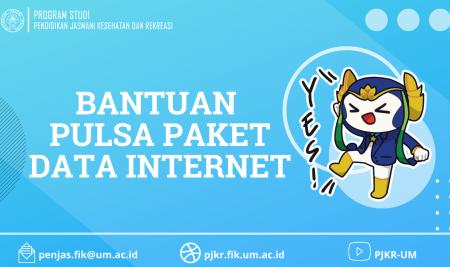 Bantuan Pulsa Paket Data Internet