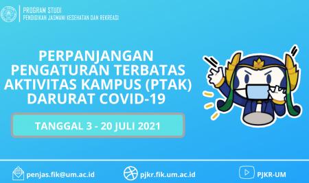 Pemberlakuan (PTAK) Darurat COVID-19 Universitas Negeri Malang